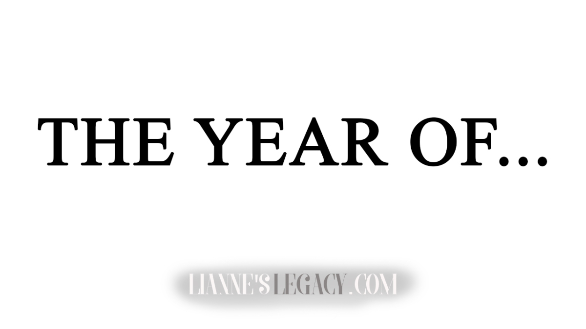 The Year Of